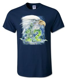 Bergsma Gallery Press :: Products :: Go Hawks! :: PRESALE....Hawks Nation - T-Shirt