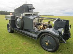 Royal Navy Air Service - 1920 Rolls Royce Mk1 - Created the First British Armored Car Squadron During WW I - Crew: 3 (Commander, Driver and Gunner) Armament: 1 x .303 cal Vickers Machine Gun (2)