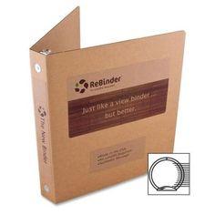 "Original Zero Waste Corrugated Binder 1"" Capacity 8-1/2 x 11 Brown Kraft ReBinder http://www.amazon.com/dp/B007CNX79E/ref=cm_sw_r_pi_dp_N6Qpvb0EQ8WWN"