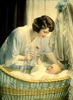 Free Vintage Images: Clip Art of Antique Mother and Baby Photographs