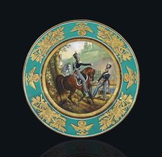 BY THE IMPERIAL PORCELAIN FACTORY, ST PETERSBURG, PERIOD OF NICHOLAS I, 1841
