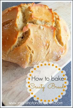 How to Bake your own Bread for Beginners ( like me !)
