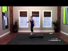 Step aerobics with music with Dana - 30 Minutes