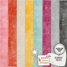 Bloomin' - Solids :: Papers :: Memory Scraps