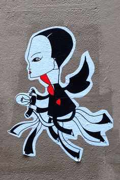 Sticker street art by Fred Le Chevalier | Flickr - Photo Sharing!