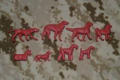"""Набор """"Породы собак"""". Советские игрушки - http://samoe-vazhnoe.blogspot.ru/"""