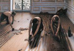 Caillebotte-Cykliniarze, 1875