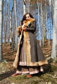 beautiful coat.. in my viking life ... i will have this coat...
