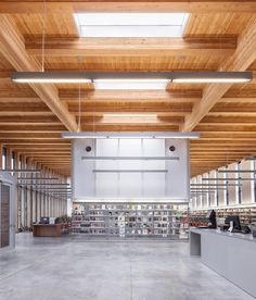 Stapleton Branch Of The New York Public Library By Andrew Berman Architects  Wood Design, Building
