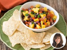 Hungry Girl Fresh and Fruity Salsa- perfect to go on top of salmon