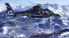 Il est possible de rejoindre de nombreuses stations de ski européennes en hélicoptère privé au départ de 14 aéroports en France et en Suisse - DR : PrivateFly.fr