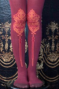 Footed tights cover your legs from toes to waist, and footless tights or leggings leave yoru feet free while covering everything else. No matter if they cover your toes or not, they all range from super sheer hose to very opaque leggings. Wrist Warmers, Colorful Socks, Anna Sui, Cool Socks, Tight Leggings, Hosiery, Style Me, Tights, Stockings