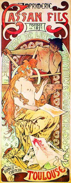 Artist: Alphonse Mucha (born Alfons Maria Mucha) (1860-1939)  http://www.muchafoundation.org/