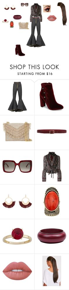 """Casual Outfit"" by helena94-1 on Polyvore featuring E L L E R Y, Nina, Cynthia Rowley, Orciani, STELLA McCARTNEY, Dsquared2, Kenneth Jay Lane, Gemma Simone, Hermès and Lime Crime"