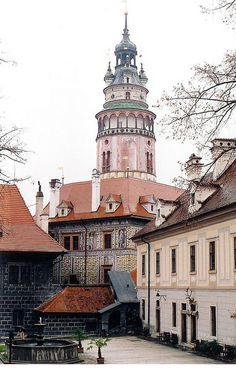 Chateau Tower - Cesky Krumlov, Czech Republic