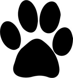 Download paw print svg file! Royalty free, for vinyl cutters ...