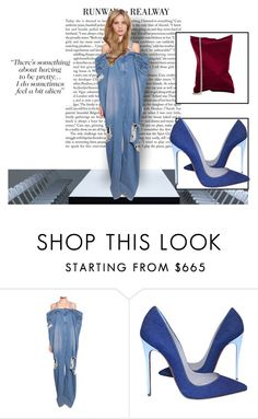 """Couture #1"" by isteely ❤ liked on Polyvore featuring Ashish, Christian Louboutin and Anya Hindmarch"