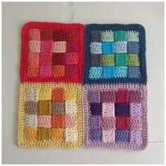 crochelinhasagulhas: Motivo entrelaçado em crochê