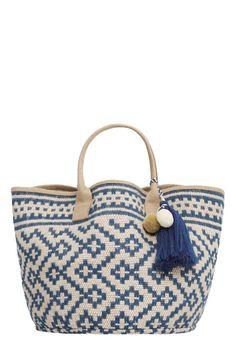 Femme Mango LULITA - Cabas - navy bleu foncé: 35,99 € chez Zalando (au 26/05/16). Livraison et retours gratuits et service client gratuit au 0800 740 357.