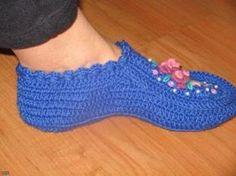 Il blog di Vera Maglia&Uncinetto: schema pantofole uncinetto