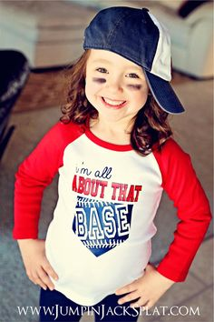 The season is almost here, and these raglan tees are so cute to wear when cheering on your favorite team or boys of summer