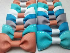 Check out this item in my Etsy shop https://www.etsy.com/listing/265875901/party-favor-bow-ties-set-of-12