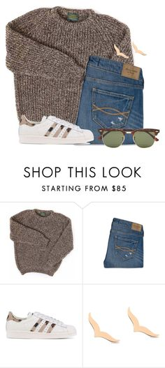 """""""These are the adidas I want"""" by flroasburn ❤ liked on Polyvore featuring Abercrombie & Fitch, adidas Originals, Ginette NY and Ray-Ban"""