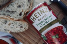 Cosying up with Heinz Spinach Lentil Soup, Kraft Heinz, I Got Married, Having A Baby, Lentils, Eat, Food, Lenses, Essen