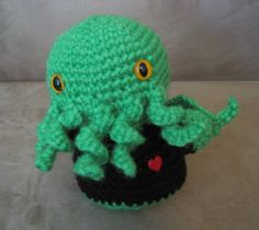 You can never have too many amigurumi cthulhu patterns.