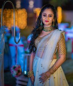 Indian Bridesmaids, Lehnga Dress, Pink Lehenga, Indian Gowns Dresses, Indian Fashion, Womens Fashion, Half Saree, Color Combinations, Blouse Designs
