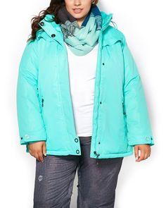 ActiveZone Hooded Ski Jacket   Penningtons