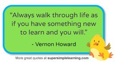Kids songs, ABCs, videos, & free flashcards from Super Simple Learning Thoughts On Education, Education Quotes, Educational Thoughts, Class Quotes, Teacher Education, Leadership Quotes, Special Education, Some Quotes, Great Quotes