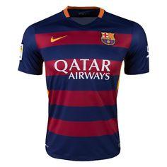 843b925e25f Nike Bacelona 15 16 Home Jersey (Navy Maroon) Barcelona Nike