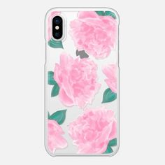 Pink Peonies Phone Case - Snap Case