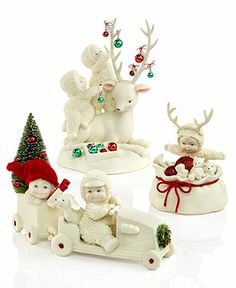 Department 56 Collectible Figurines, Snowbabies Christmas Memories Collection