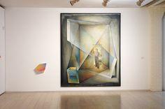 """""""El ámbito del pensamiento"""" (1989) Guillermo Pérez Villalta. Conexiones 09./ Simon Zabell. Exposición """"Dibujo y Traducción"""" Museo ABC Madrid. #arte #art #artecontemporáneo #contemporaryart #spanishartists #Arterecord 2015. https://twitter.com/arterecord"""