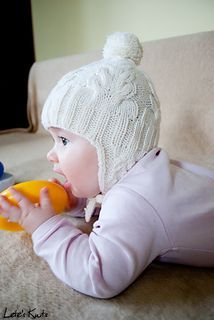 I Heart Cables - Infant/Toddler/Child hat - with and without earflaps - free ravelry download