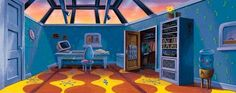 Who wasn't obsessed with Arnold's room in Hey Arnold!!!