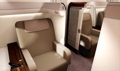 Unveiling Garuda Indonesia's first class.