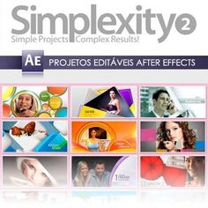 Projetos Editáveis After Effects Simplexity Vol. 02 - R$ 25,00