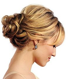 This is a great alternative to a ponytail.  A not-too-tight knot, like Dianna Agron's, is the a date night-worthy hairstyle. #DaytoNightChic