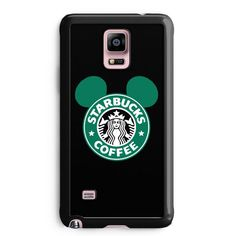 Starbucks Mickey Inspired Samsung Galaxy Note 3 Case Aneend