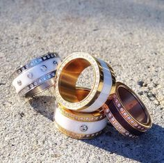 Arctic Symphony Collection; Ladies rings; Ring combination; Twist & Change System