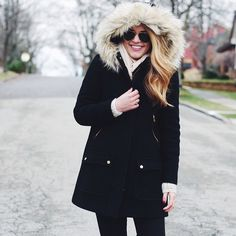 Wish I could justify spending $450 on this gorg J.Crew parka @summerwind41490
