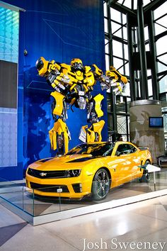 Chevy Camaro Bumblebee Transformer by Josh Sweeney