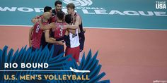 12 U.S. Men's Volleyball Players Who Will Go For Gold In Rio Selected To Olympic Team
