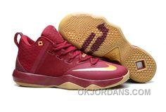c1ca535bc3fdf2 Nike Lebron Ambassador 9 Zoom Air Men Burgundy Lastest