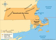 Massachusetts Bay and Plymouth Colonies