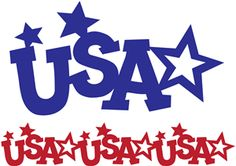 Silhouette Online Store - View Design #11262: usa stars border and image