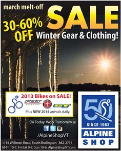 Winter Outerwear & Casualwear 40-60% OFF! Winter Clearance March Melt-Off Sale!